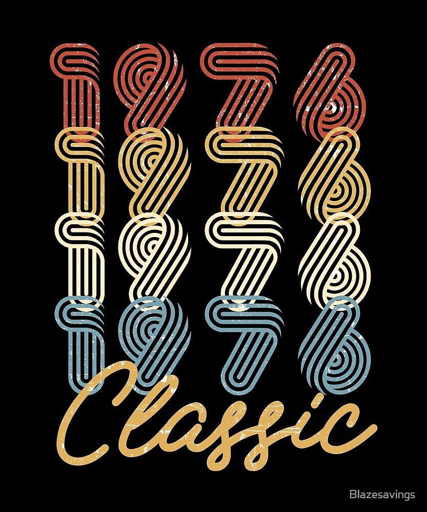 42nd Birthday Gift Vintage 1976 Retro Classic BDay Present by Blazesavings