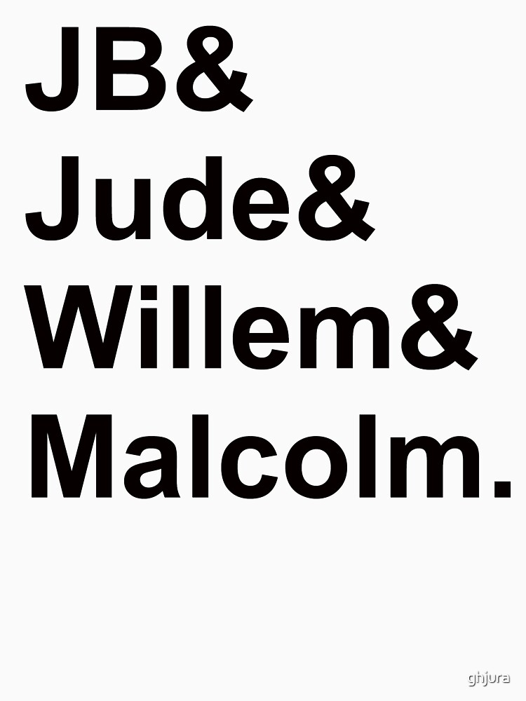 JB & Jude & Willem & Malcolm  by ghjura