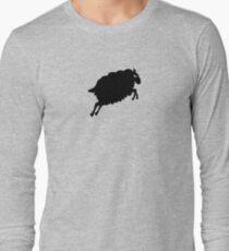 Angry Animals: Sheep Long Sleeve T-Shirt