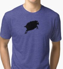 Angry Animals: Sheep Tri-blend T-Shirt