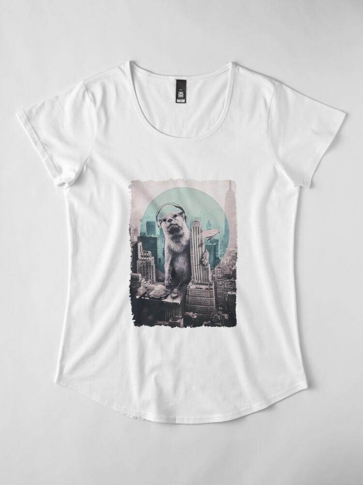 Alternate view of DJ Premium Scoop T-Shirt