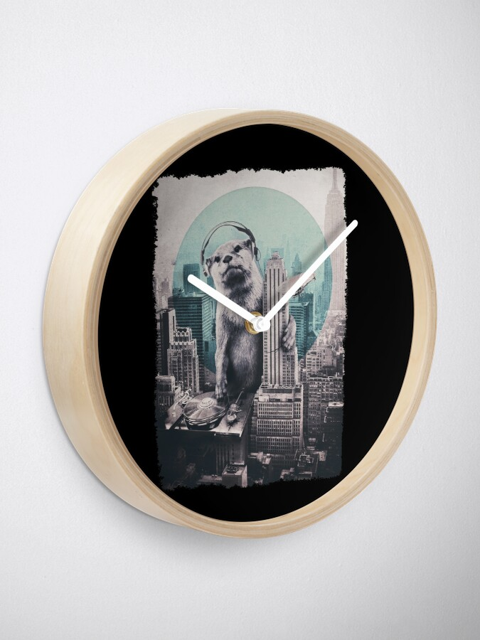 Alternate view of DJ Clock