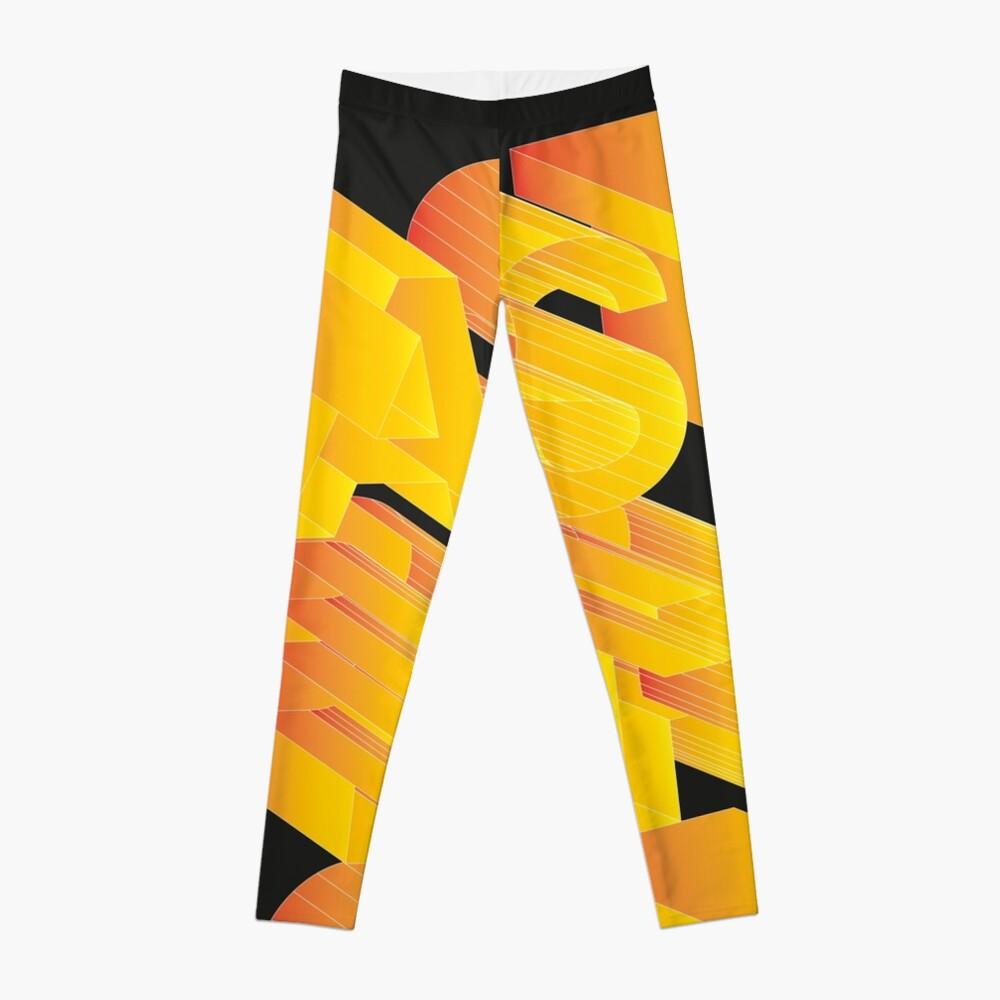 Astbract Leggings Front