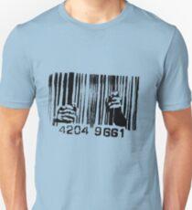 Barcode t-shirt Unisex T-Shirt