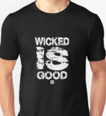Der Gang des Labyrinths. Wicked ist gut T-Shirt Slim Fit T-Shirt
