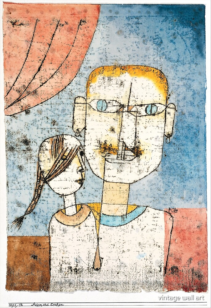 Adam and Little Eve by Paul Klee, 1921 by fineearth