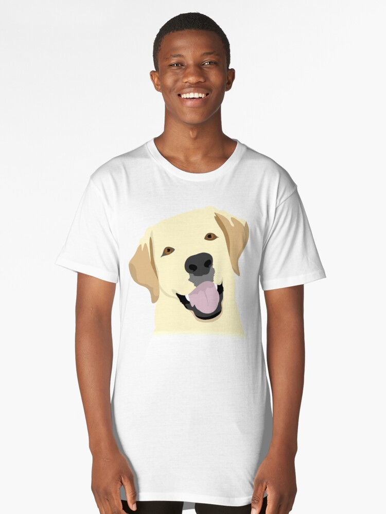 Labrador Long T-Shirt Front