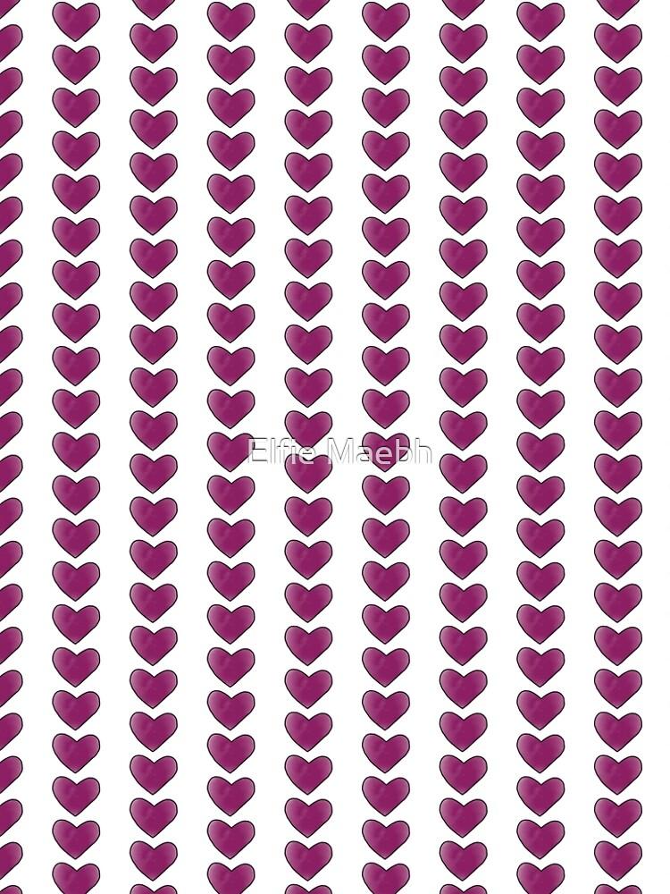 Purple Heart by elfiesdesigns