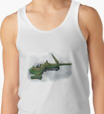 Singleship in atmosphere Tank Top