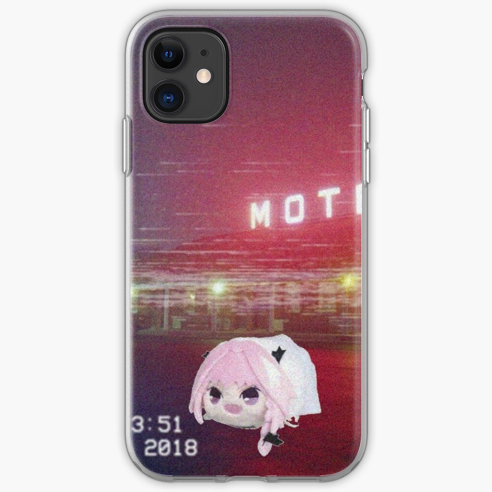 Astolfo Plushie haunted astolfo bean plushie in a motel | iphone case & cover