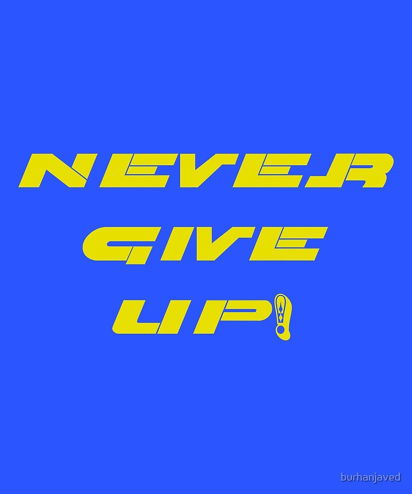 Cena John Never Give Up Wwe T Shirt Medium Official Approved Wresting T-shirts,stickers,mugs and more by burhanjaved