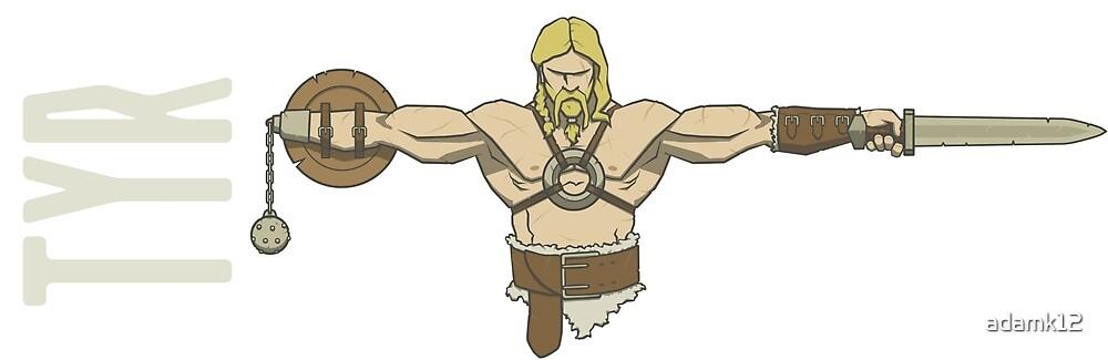 Tyr - Norse God of War by adamk12