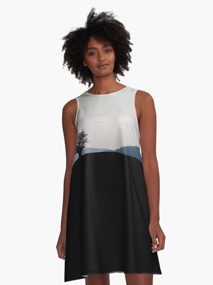 Horizons  A-Line Dress Front