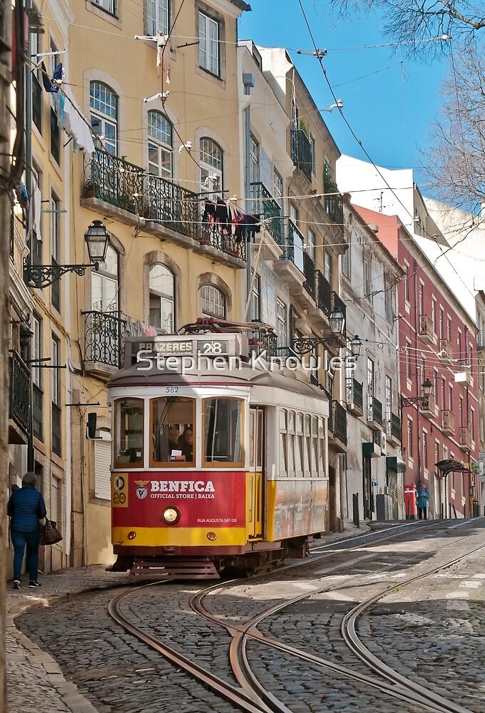 Lisbon Tram by Stephen Knowles