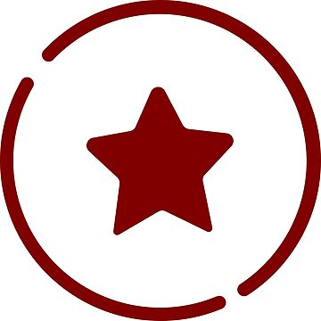 Red Star in Circle by rdebeer