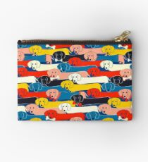 FARBIGES NETTES HUNDE-MUSTER 2 Studio Clutch