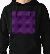3D Pyramids purple Pullover Hoodie