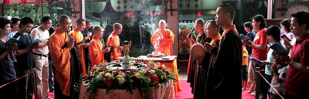 Tribute to Buddha by John Felix