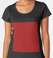 3D Pyramids red Women's Premium T-Shirt