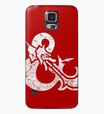 Dungeons&Dragons white ampersend Case/Skin for Samsung Galaxy