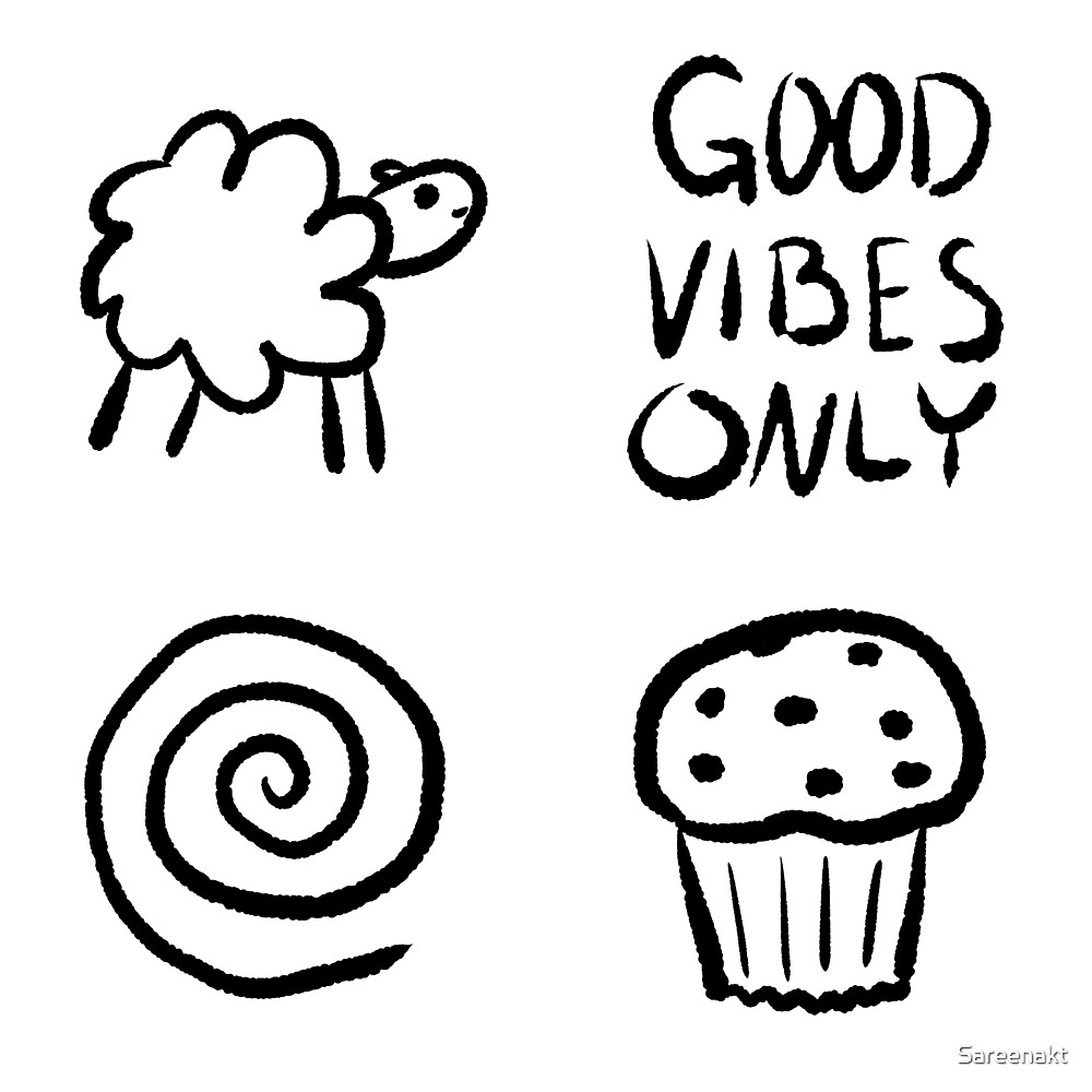Good Vibes Only by Sareenakt