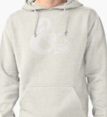 Dungeons&Dragons white ampersend Pullover Hoodie