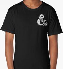 Dungeons&Dragons white ampersend Long T-Shirt