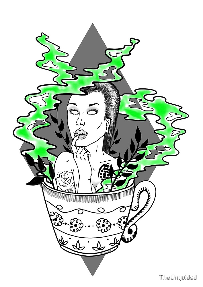 Poison Girl in Mug by TheUnguided