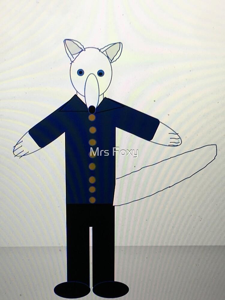 Arctic Fox by Mrs Foxy