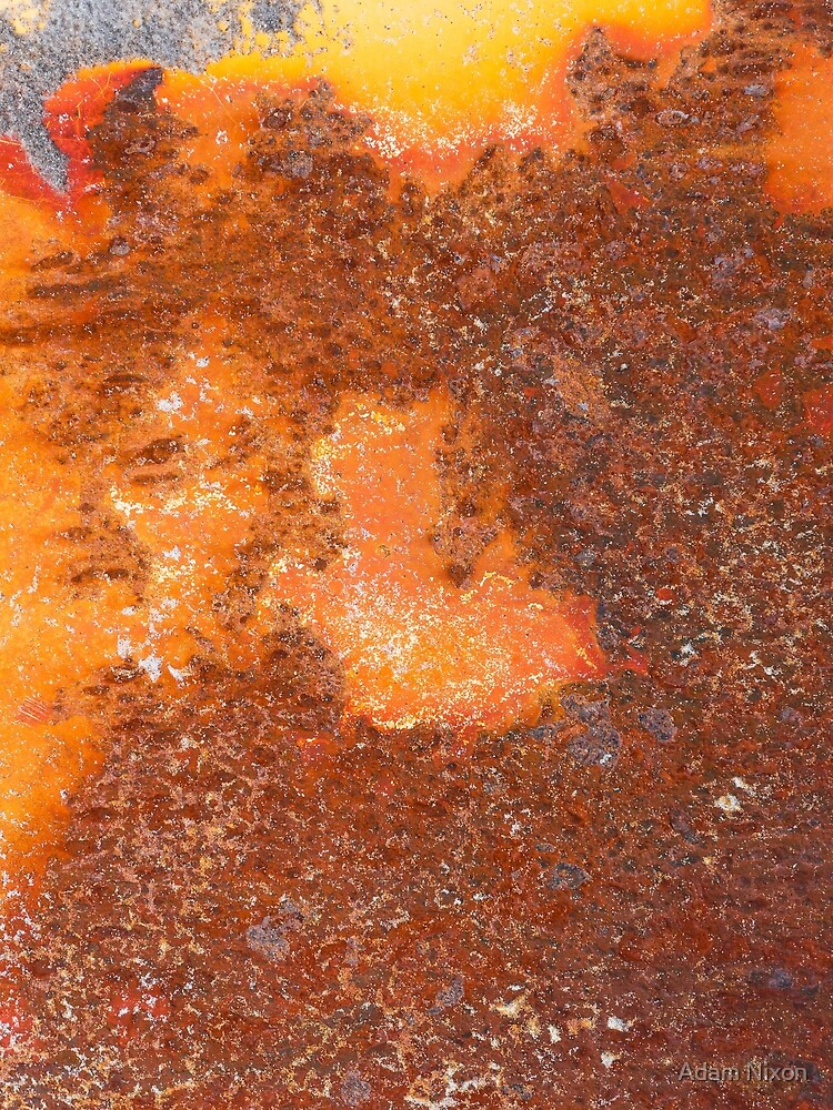 Rusty metal surface, background by Adam Nixon