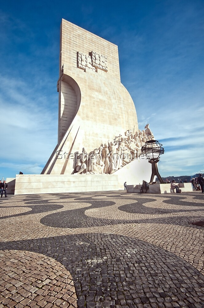 Monument to the Discoveries by Stephen Knowles