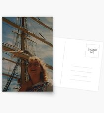 tall ships Postcards