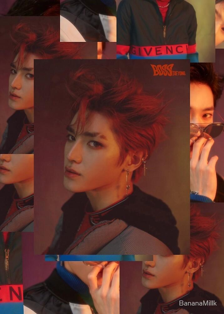 NCT BOSS Taeyong by BananaMillk