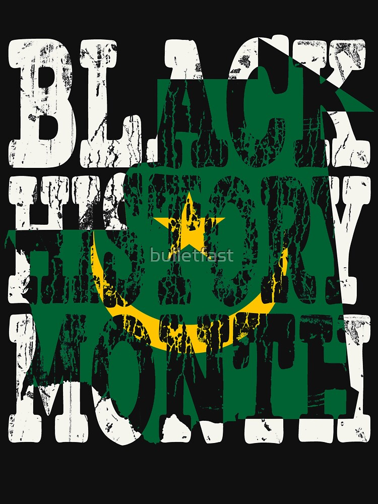 Black History Month Melanin Poppin' Mauritanian Flag Shape African Black Pride Mauritania Nouakchott Flag by bulletfast
