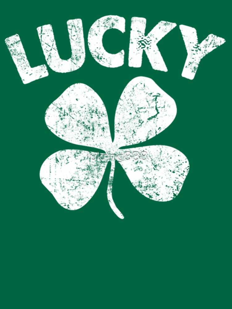 St. Patrick's Day Lucky Shirt by lukring888