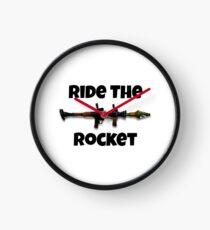 Ride the Rocket Clock