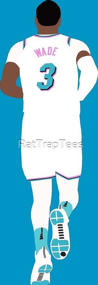 Dwyane Wade Miami Vice by RatTrapTees
