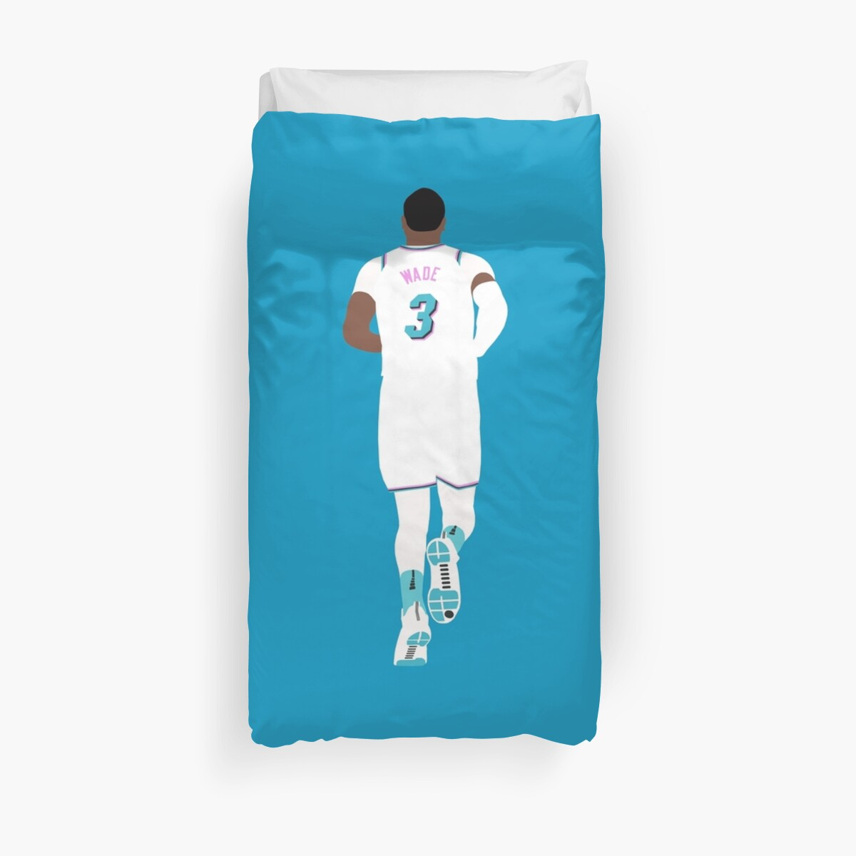 reputable site 656cc 52185 'Dwyane Wade Miami Vice' Duvet Cover by RatTrapTees