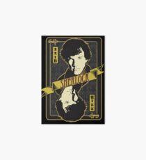 221B Playing Card Art Board