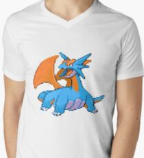 Salamence  Men's V-Neck T-Shirt