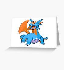 Salamence  Greeting Card