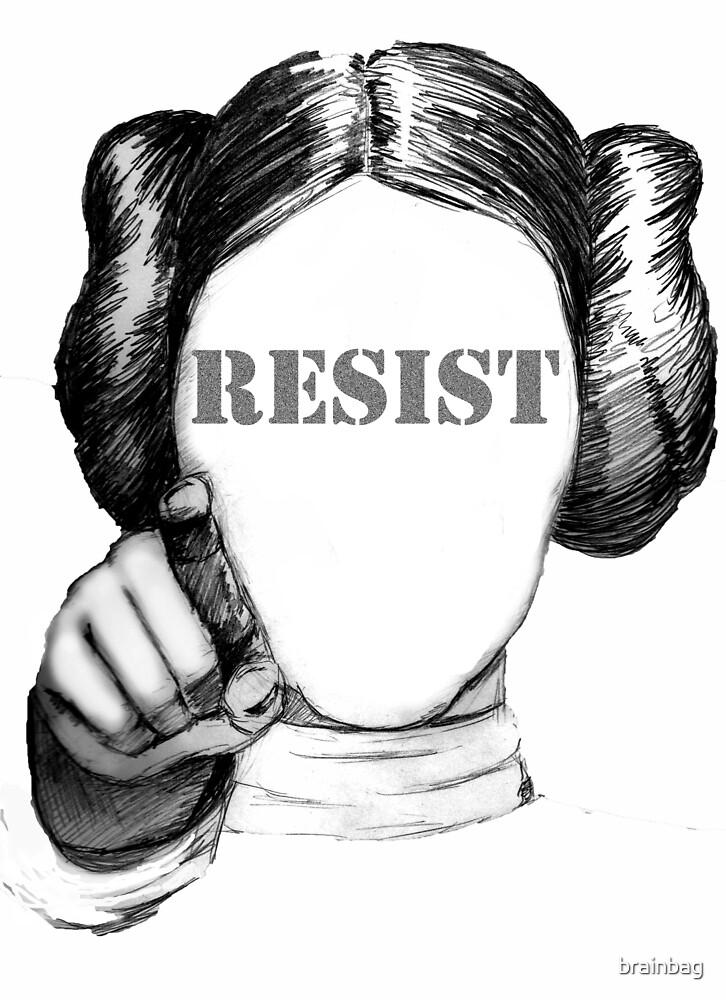 Leia Organa - RESIST by brainbag