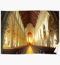 Sacred Heart Cathedral ~ Bendigo Poster