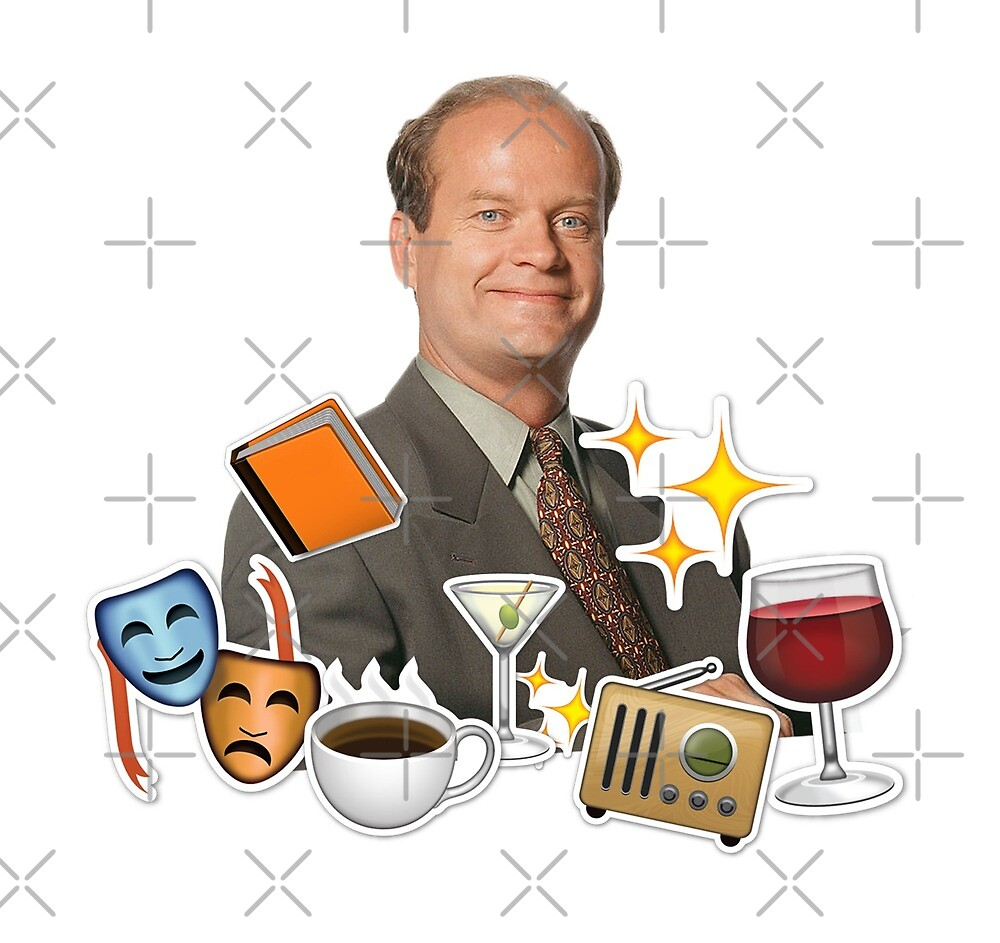 frasier emoji collage by aluap106