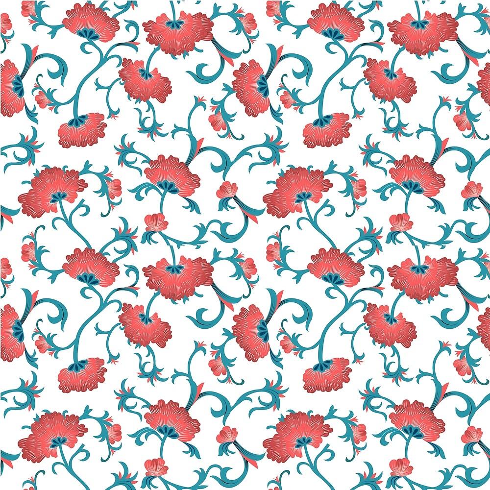 Fleurs Rouges by lmbeckman