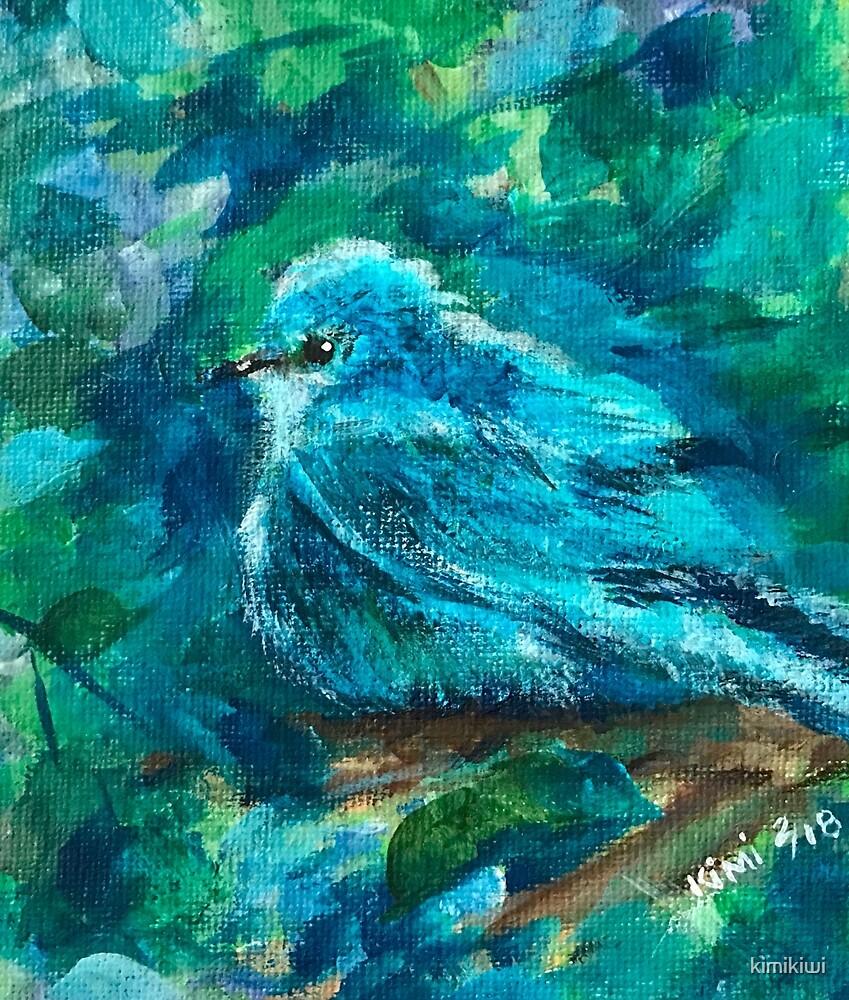 Blue Bird by kimikiwi