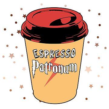ESPRESSO PATRONUM - 0210 by GeeklyShirts