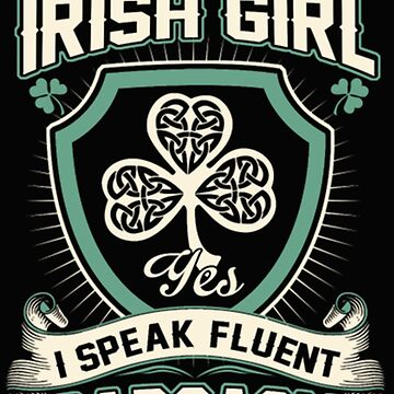 hot irish girl shirt st. patrick's day tribute by lukring888