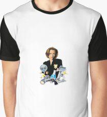 Dana scully emoji collage Graphic T-Shirt