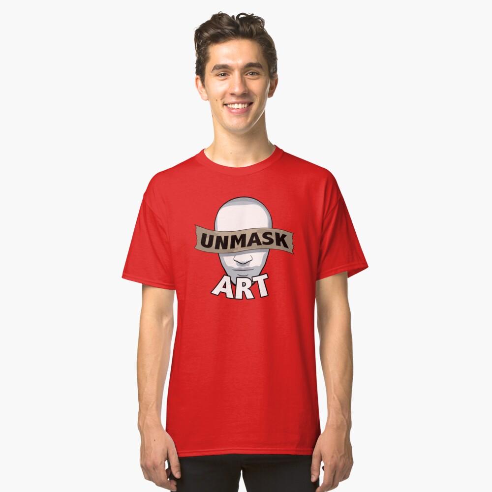Original Unmask Art Logo Classic T-Shirt Front